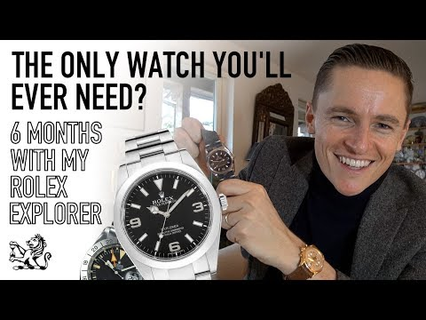 The Only Watch You'll Ever Need? - Why The Explorer Is My Best Rolex, 6 Month Update & Brief History