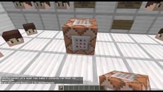 Minecraft Comandos #1 - PLACAS COLORIDAS SEM PLUGINS E MOD!!
