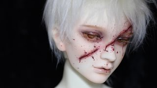 BJD Scar Faceup - Switch Soseo _by Light Limner