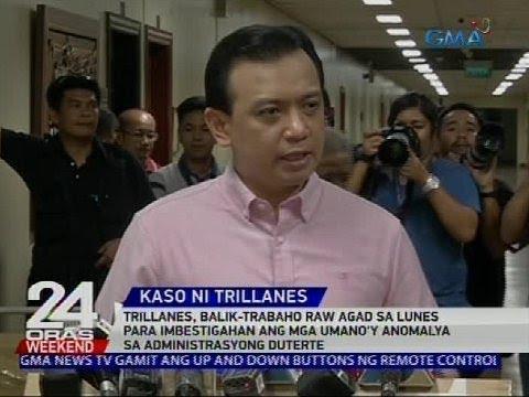 Sen. Trillanes, umuwi na matapos ang halos isang buwan sa Senado