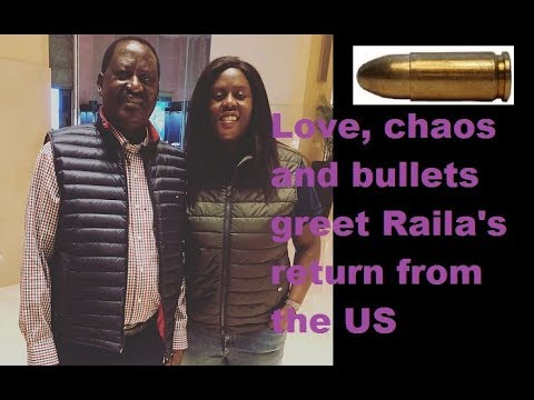 The Love And Chaos That Welcomed Raila From The US Part 1