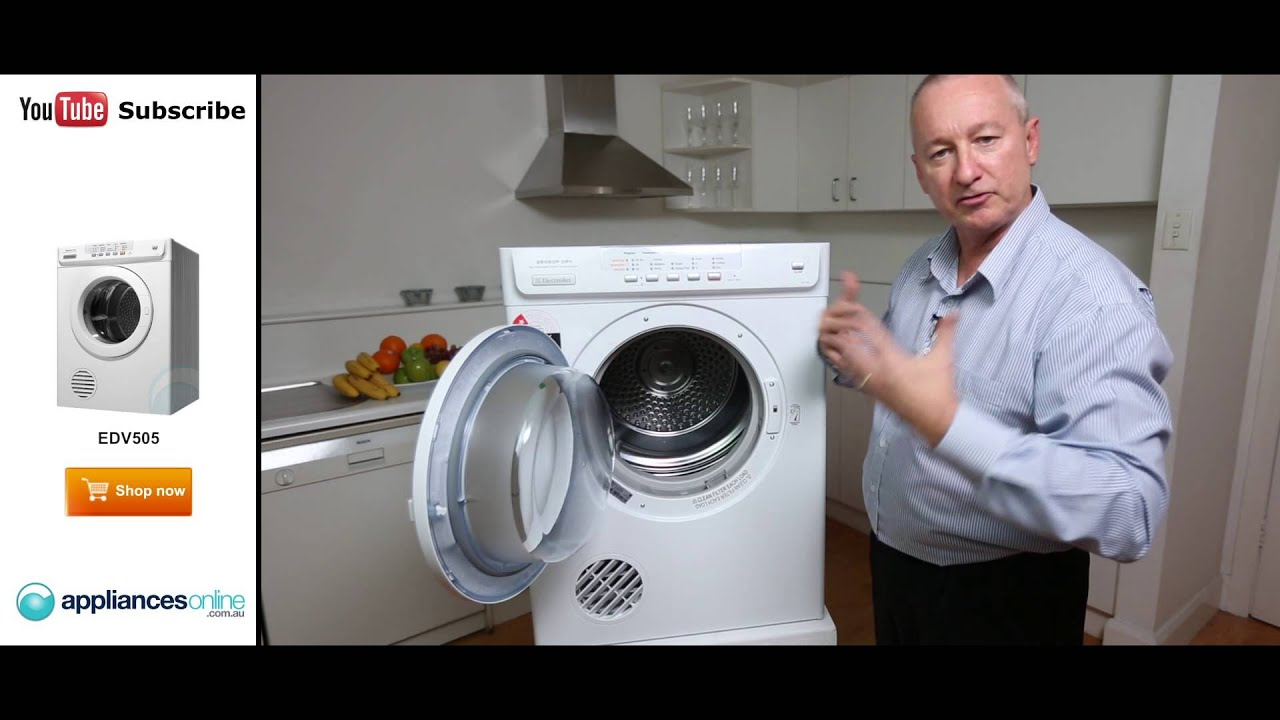 edv505 electrolux 5kg dryer reviewed by product expert appliances rh youtube com