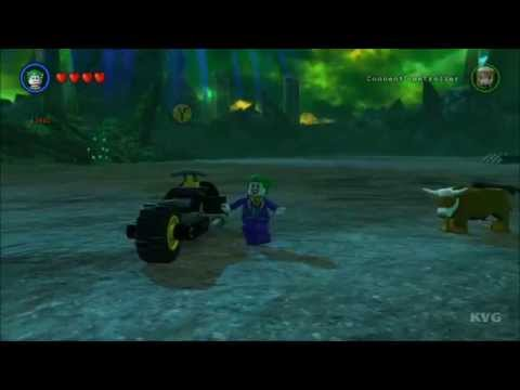 LEGO Batman 3: Beyond Gotham - The Batcycle Free Roam ...