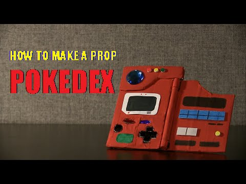 How to Make a Prop Pokedex