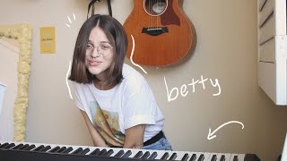 betty - taylor swift | cover