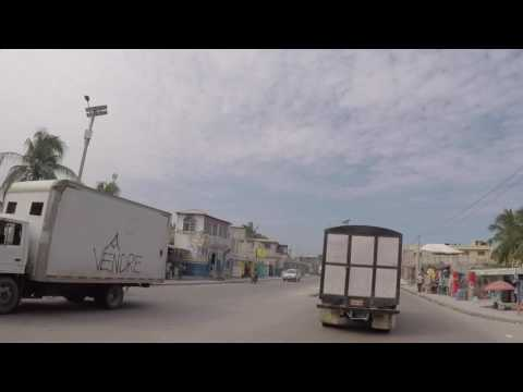 Haiti Route vers Kenscoff, Gopro / Haiti Road to Kenscoff, Gopro