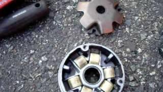 Honda Dio Tuning ( Variator Replacement 2 )