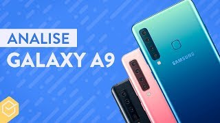 GALAXY A9 2018 vale a pena?   Análise / Review Completo