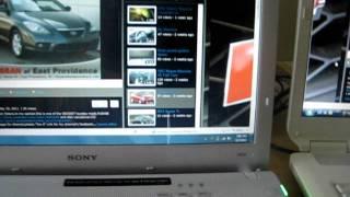 Old VS New Sony Vaio Laptop
