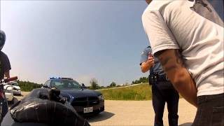 Harassed by missouri state police on our motorcycles 7/7/13