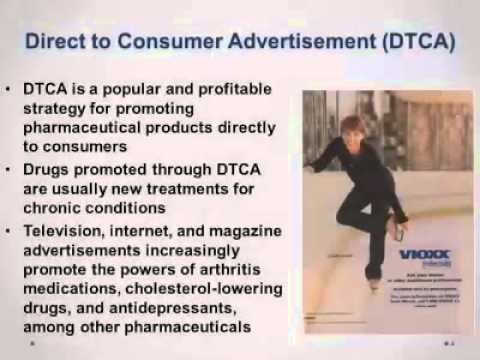 Direct to consumer drug impact