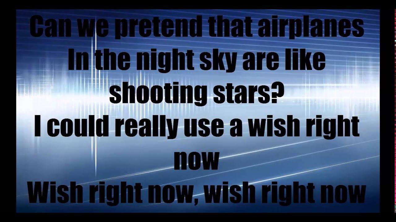 Airplanes b hayley williams lyrics