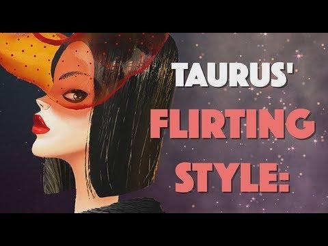 Taurus' Flirting Style Sensual