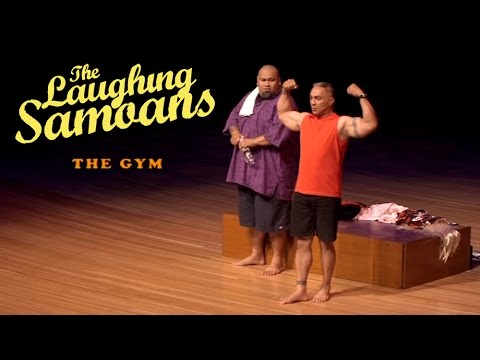 "The Laughing Samoans - ""At the Gym"" from Funny Chokers"