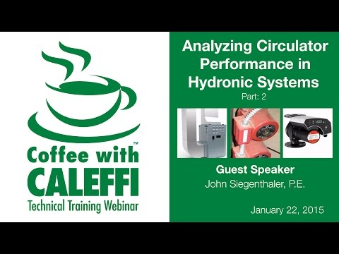 Analyzing Circulator Performance in Hydronic Systems (Part 1)