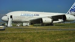 Airbus A380 - extreme take off !! Paris 2005 Le Bourget