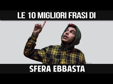 SFERA EBBASTA - LE SUE 10 MIGLIORI FRASI