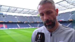 Marco Rose im DAZN Interview vor FC Salzburg vs Brügge