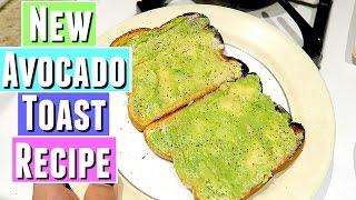 NEW AVOCADO TOAST RECIPE!  Tara Michelle avocado toast breakfast recipe