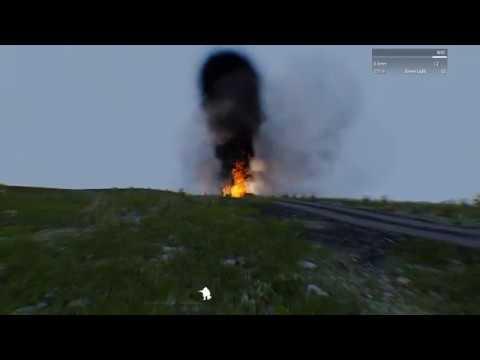 Мод горящей техники dzn Vehicle on Fire