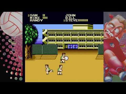 Super Dodge Ballプレイ動画