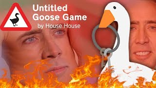 Untitled Goose Game but I take evil to the next level