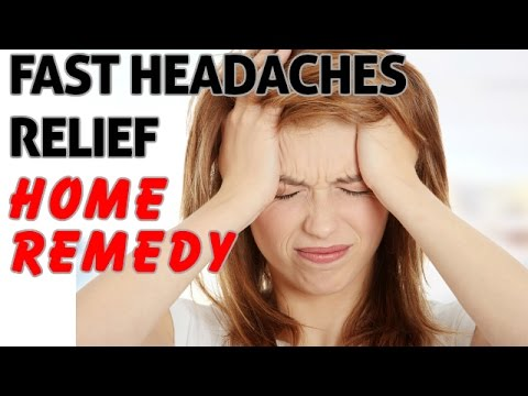 what is the home remedy for headache