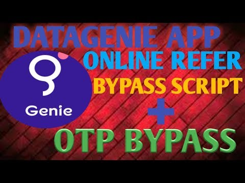 (NOT WORKING) DATAGENIE APP|| ONLINE REFER SCRIPT+OTP BYPASS|| WITH LIVE PROOF!