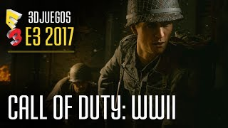 CALL OF DUTY: WWII - Jugamos Campaña y multijugador