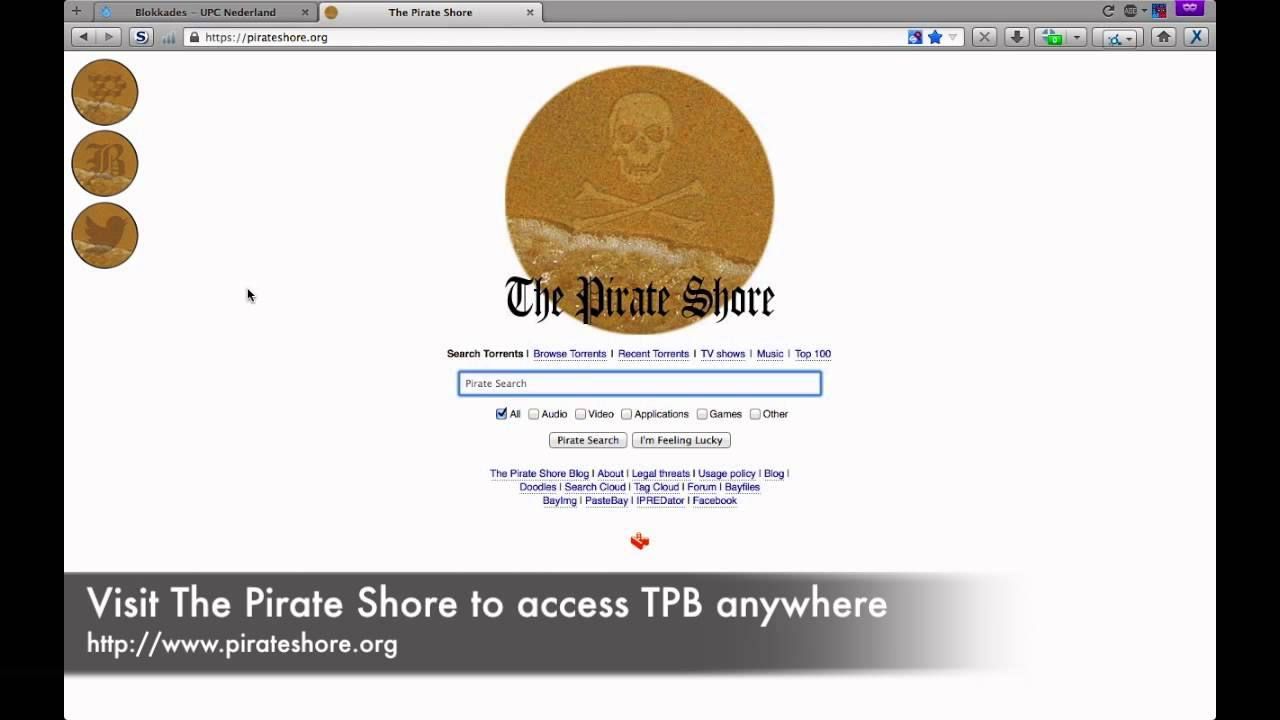 how to connect to pirate bay
