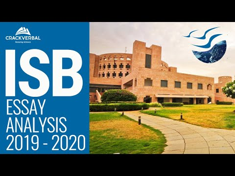 ISB Essay Analysis for MBA Admissions (Class of 2021