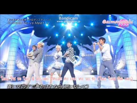 [Thai karaoke] SHINee   Boys Meet U