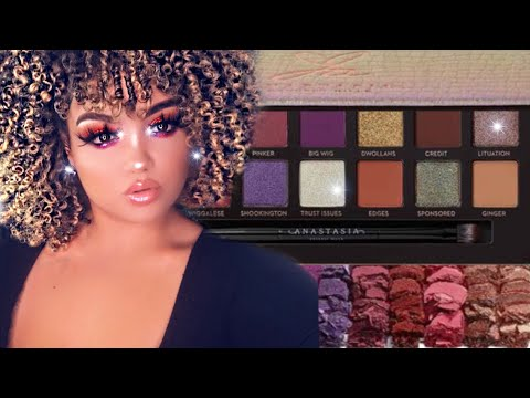 TESTING OUT THE NEW ANASTASIA BEVERLY HILLS X JACKIE AINA PALETTE/GIVEAWAY | STACEYMARIEBEAUTY thumbnail