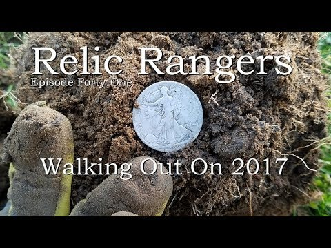 Relic Rangers - Treasure Hunting Public Places for Big Old Silver Coins | Metal Detecting