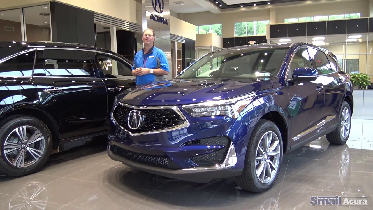 Changes To The New Redesigned 2019 Acura Rdx Smail Review