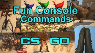 CS:GO | Fun Console Commands [Props, Entities, Slowmotion, Explosions]