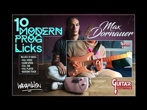Max Dornauer - 10 Modern Prog Licks