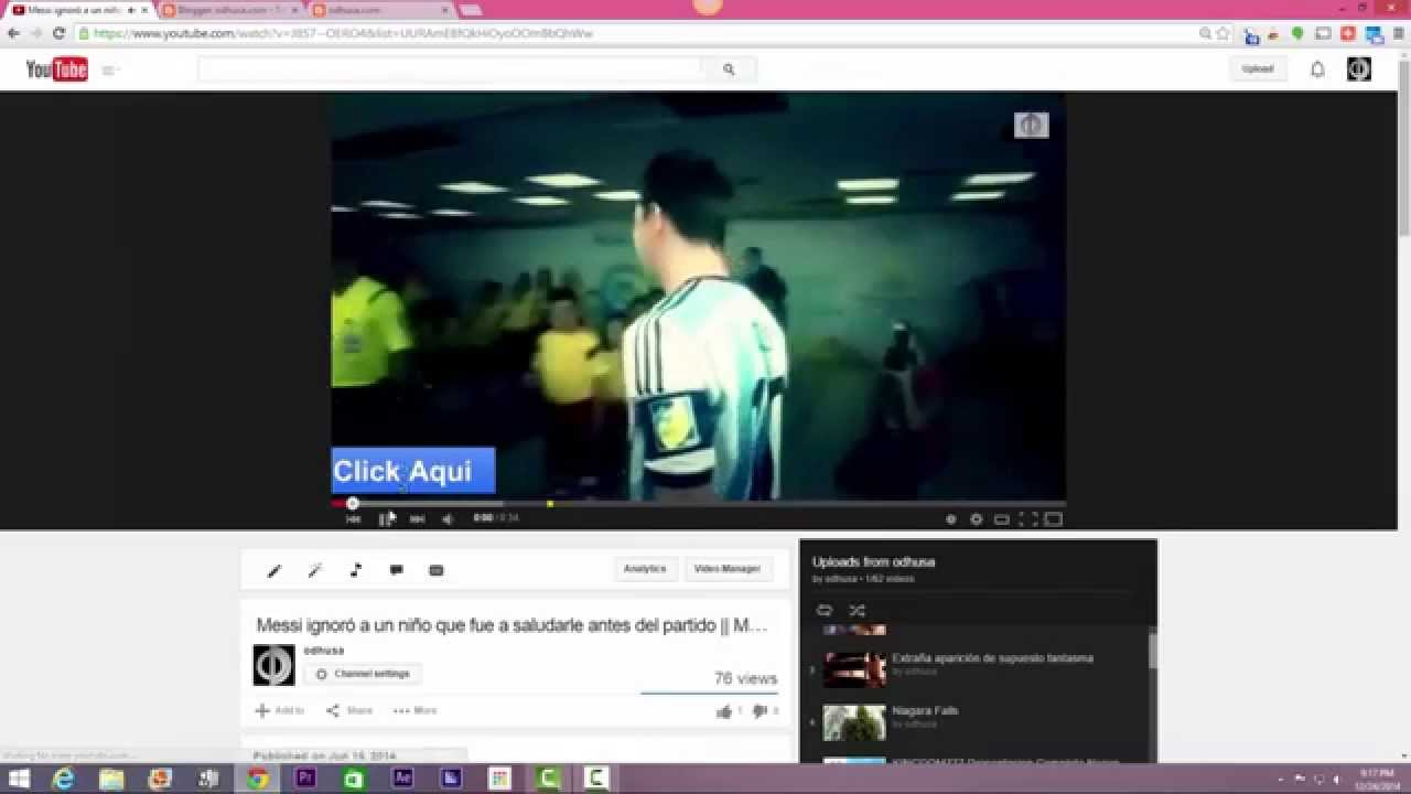 how to embed youtube channel video on website - YouTube