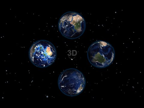 Earth 3d Pyramid hologram 2K