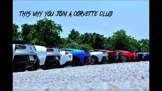 THIS IS WHY YOU JOIN A CORVETTE CLUB