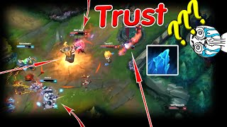 best of lol moments 8 when your friend has no trust in your ability league of legends