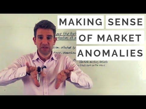 Making Sense Of Market Anomalies 😵