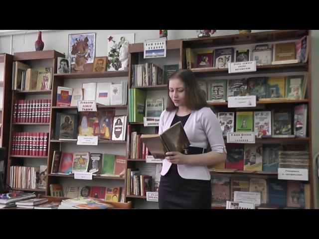 Изображение предпросмотра прочтения – ЯнаНуреева читает произведение «Играй, покуда над тобою ещё безоблачна лазурь...» Ф.И.Тютчева
