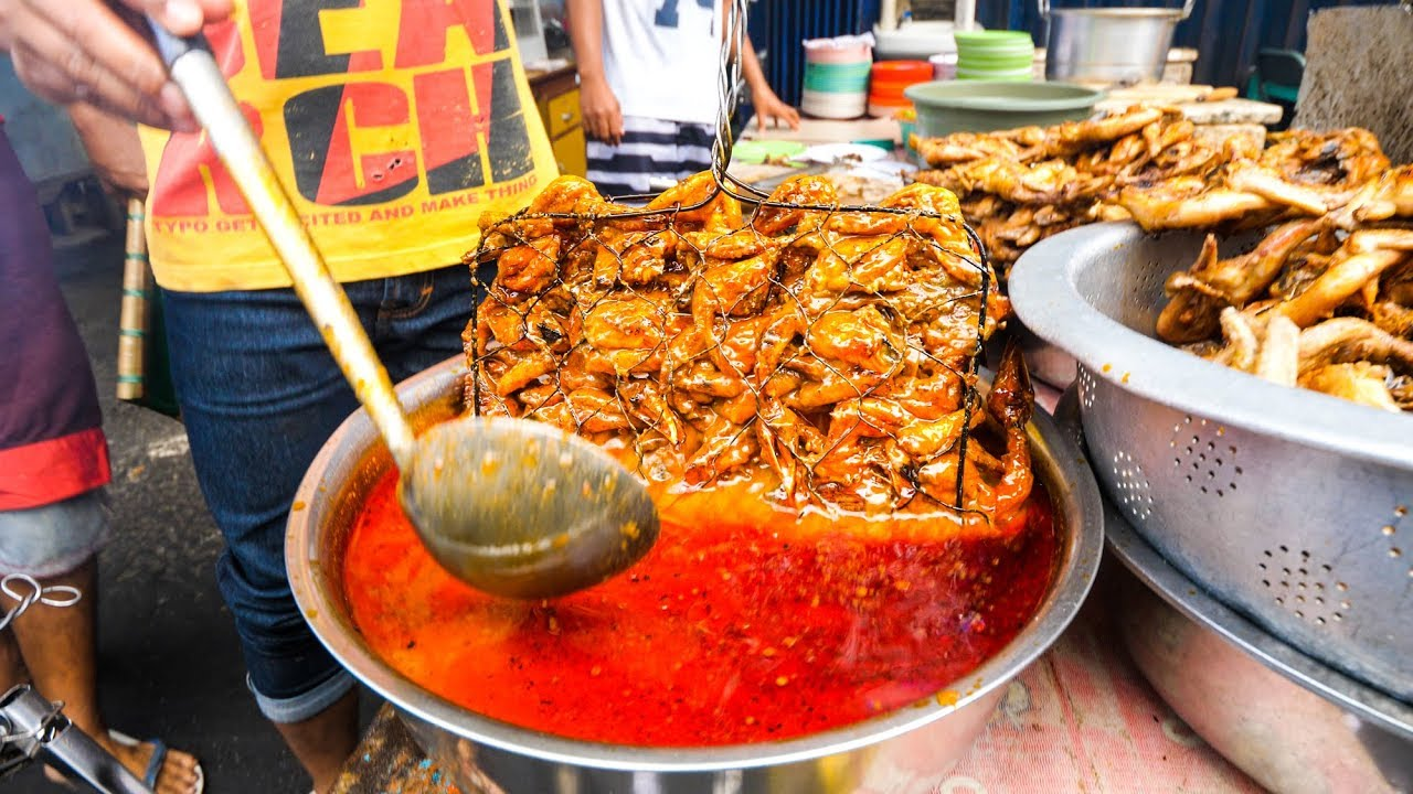 street indonesia mataram chicken grilled lombok