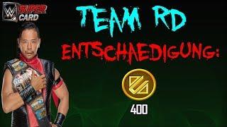 Nakamura Team RD Vorschau | Entschädigung | Zombie Login Bonus | TBG Pack | WWE SuperCard Deutsch