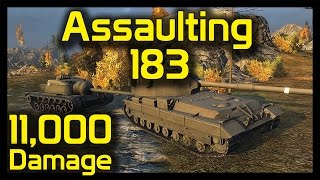 ► World of Tanks FV215B 183: 11,000 Damage Assaulting