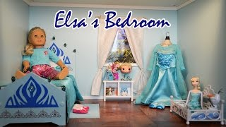 American Girl Dolls | Elsa's Bedroom