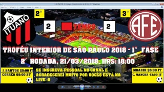 Video Gol Pertandingan Ituano FC vs Ferroviaria