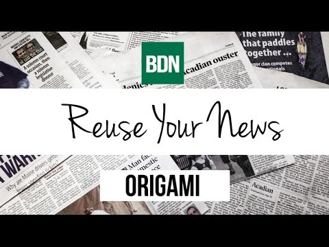BDN ReuseYourNews Episode #1, Origami