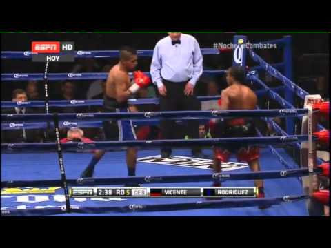 Juan Antonio RODRIGUEZ vs Yenifel VICENTE - Full Fight - Pel